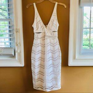 Tracy Reese Mock Surplice Dress